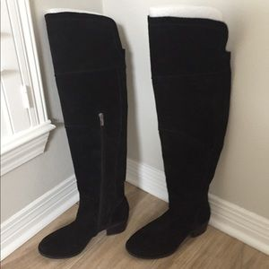 Vince Camuto Over-the-Knee Suede Boots